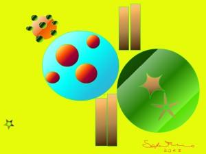 quadro digitale di S.F.